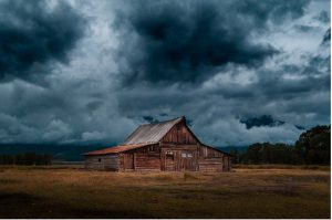 log cloudy raining day